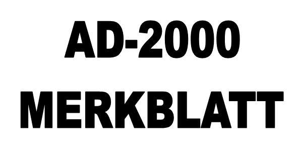 projektowanie AD 2000 merkblatt